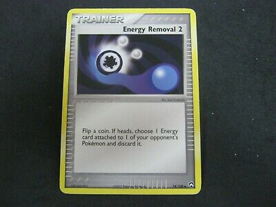 Pokemon Card Ex Power Keepers Number 74 ENERGY REMOVAL 2