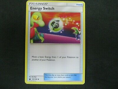 Pokemon Card Celestial Storm Number 129 ENERGY SWITCH