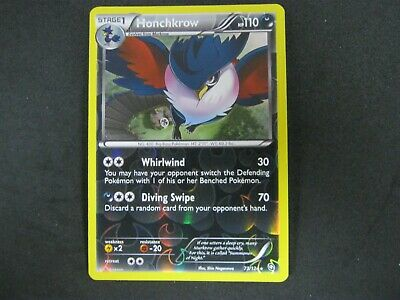 Pokemon Card (1) Dragons Exalted Holo Number 73 HONCHKROW