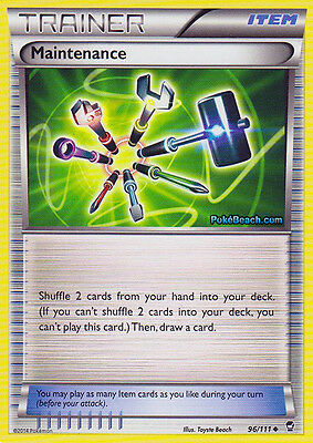 Maintenance 96/111 - Xy Furious Fists Pokemon Trainer Card - In Stock Now!