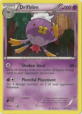 Drifblim 51/124 B&W Dragons Exalted RARE MINT! Pokemon