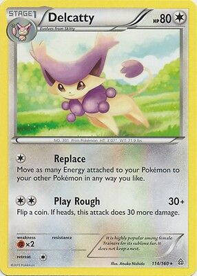 Delcatty 114/160 XY Primal Clash RARE MINT! Pokemon