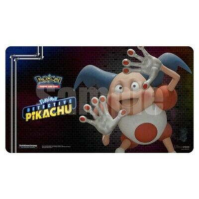 Detective Pikachu Mr. Mime PLAYMAT PLAY MAT ULTRA PRO FOR Pokemon CARDS TCG