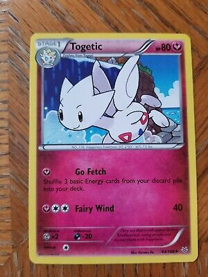 Togetic 44/108 - Uncommon Pokemon Card - Roaring Skies Set (2015) - NM