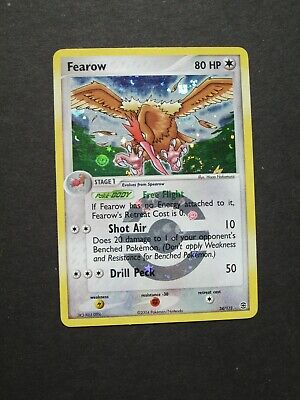 Pokemon FEAROW 24/112 -  EX FireRed LeafGreen HOLO - (NM-)