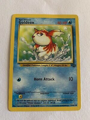 Goldeen 53/64 Jungle Set - Common Pokemon Card - Pl