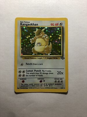 Kangaskhan - Pokemon Card - Jungle Set 5/64 - WOTC Holo Rare - LP