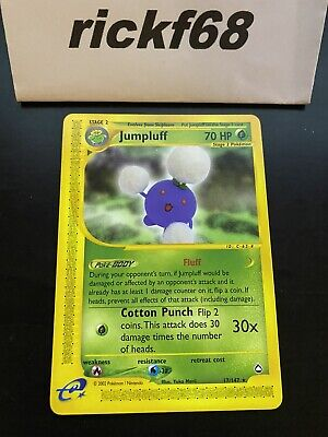 Pokemon WOTC Aquapolis Jumpluff 17/147 Rare. *Read Description*