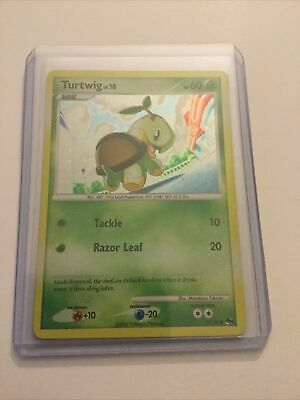 Turtwig POP Series 6 Promo 17 Lightly Played Pokemon Cards