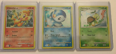 Chimchar Piplup Turtwig POP Series 6 Promos 14 15 17 Lightly Played Pokemon