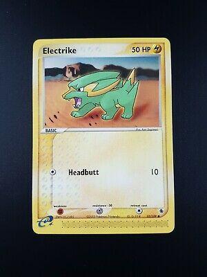 Electrike 52/109 Non-Holo EX Ruby & Sapphire Pokemon Card - Light Play