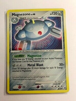Magnezone 8/130 Holo - Diamond and Pearl - LP - Pokemon Cards