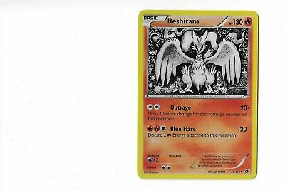 Reshiram x1 Legendary Treasures Pokemon