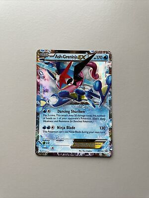 Pokemon Cards Ash-Greninja EX XY133 Promo NM