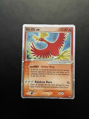 Pokemon Card Ho-Oh Ex 17/17 Pop Series 3 Promo Holo in OK condition