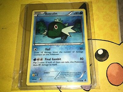 Basculin Pokemon Emerging Powers Card 24/98 - Mint Condition