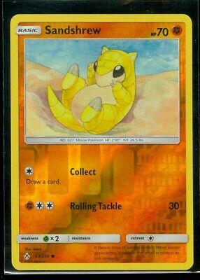Pokemon SANDSHREW 83/214 Unbroken Bonds Rev Holo - MINT