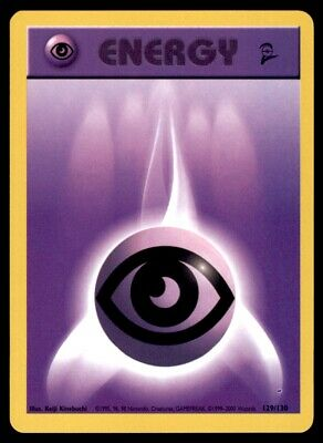 Pokemon Base Set 2 (2000) Psychic Energy Common No. 129
