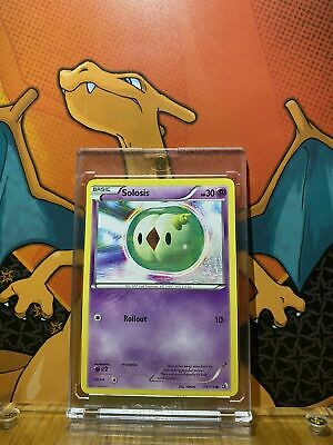 Solosis Black And White Legendary Treasures NM 73/113 Pokemon Card
