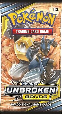 Pokemon TCG,Sun & Moon Unbroken Bond, Holo R,Trainers, Rev Foil, R! You Choose!!