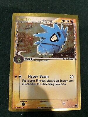2006 Pokemon EX Dragon Frontiers Foil #59 Pupitar