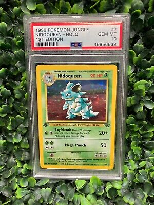 Pokemon Jungle Set Nidoqueen 7/64 PSA 10 GEM MINT
