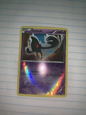 Yamask 45/101 B&W Noble Victories REVERSE HOLO MINT! Pokemon