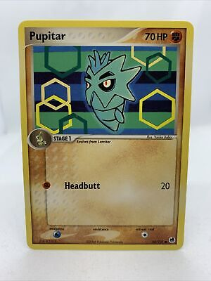 Pupitar 2006 Ex Dragon Frontiers 58/101 Pokemon Card NM