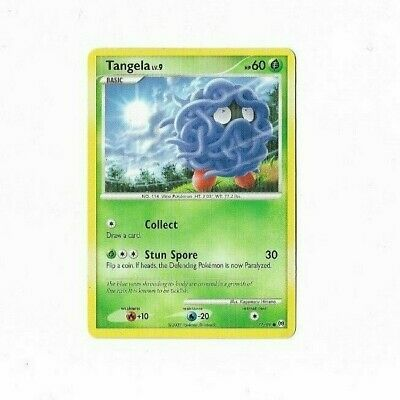 Pokemon Card Tangela 77/99 Platinum Arceus  Excellent To Near Mint
