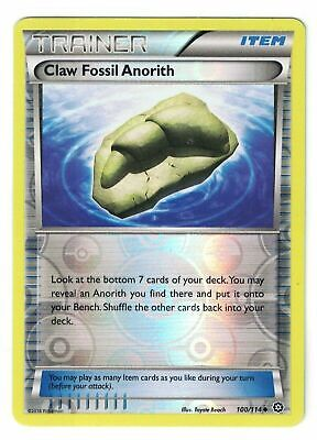 2016 Pokemon XY Steam Siege, Claw Fossil Anorith 100/114 Reverse Holo
