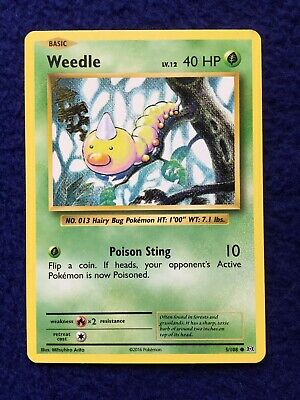 Weedle, 5/108 XY Evolutions, Non-Holo, M/NM, Pokemon TCG, Shipped in Sleeve