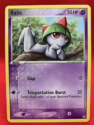 Ralts 2007 Ex Power Keepers Pokemon Card NM 59/108