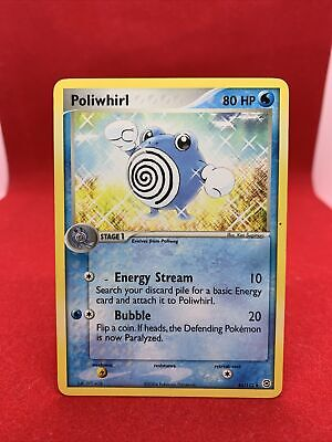 Poliwhirl 2004 Ex Firered Leafgreen Pokemon Card NM Rare 46/112