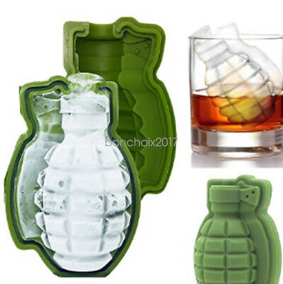 Ice Cube Trays Lots 3D Grenade