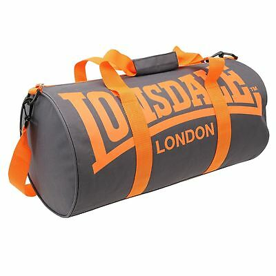 Сумка Lonsdale Barrel Bag Charcoal/Orange Sports