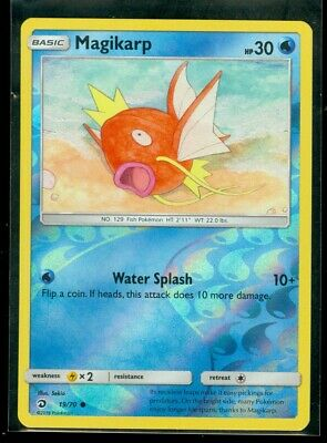 Pokemon MAGIKARP 19/70 Dragon Majesty - Rev Holo - MINT