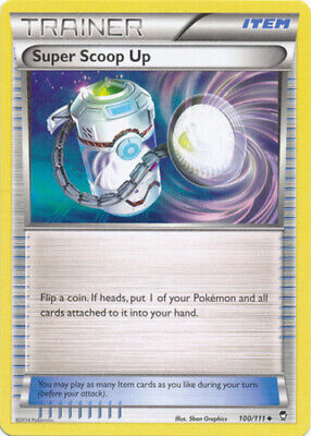 1x Super Scoop Up - 100/111 - Uncommon Lightly Played Pokemon XY - Furious Fists