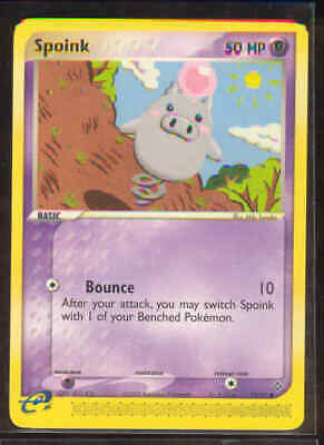 Pokemon SPOINK 73/97 Dragon - - NEAR MINT