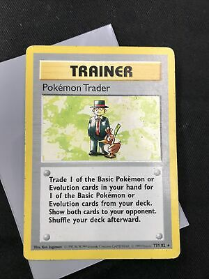 Pokémon TCG Pokemon Trader 77/102 Shadowless Base Set