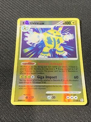 Electivire Reverse Holo Pokemon Card, Diamond&Pearl Base | 3/130 Rare