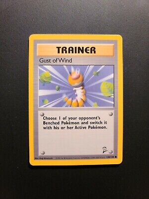 Gust Of Wind - Trainer - Base Set 2 NM/M Condition. Pokemon