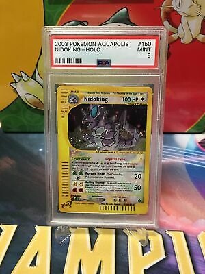 1x Nidoking - 150/147 - PSA 9 Mint - Holo - Aquapolis NM-Mint Pokemon Graded Pok