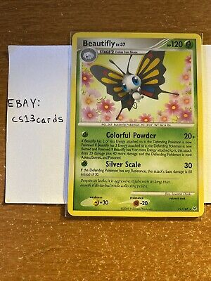 Beautifly 21/127 - Rare - Non-Holo Platinum Base Set Pokemon TCG Near Mint!