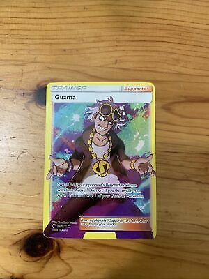 Pokemon Card : GUZMA 143/147 Burning Shadows Full Art Rare