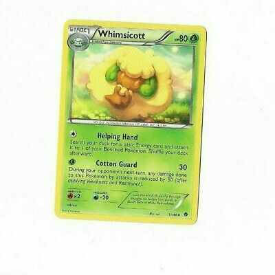 Pokemon Card Whimsicott 11/98 Emerging Powers  Excellent To Near Mint