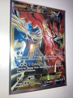 🔥🔥FULL ART Yveltal EX ULTRA RARE XY150a Alternate Xerneas Alt Art Pokemon