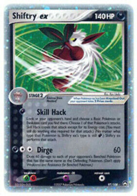 1x Shiftry-EX - 97/108 - Rare Holo EX Lightly Played Pokemon EX - Power Keepers