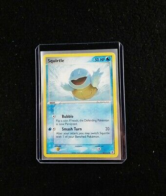 Squirtle 83/112 FireRed LeafGreen Set Non-Holo Pokemon Card Common