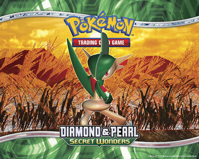 Pokemon TCG Diamond and Pearl Secret Wonders - Rare Cards