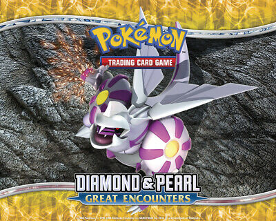 Pokemon TCG Diamond and Pearl Great Encounters - Reverse Holo Common Cards